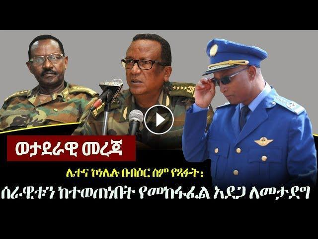 Ethiopia News and Views: Gen Seare Mekonnen | Dr Abiy Ahmed